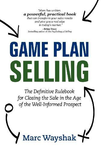 Game Plan Selling Book