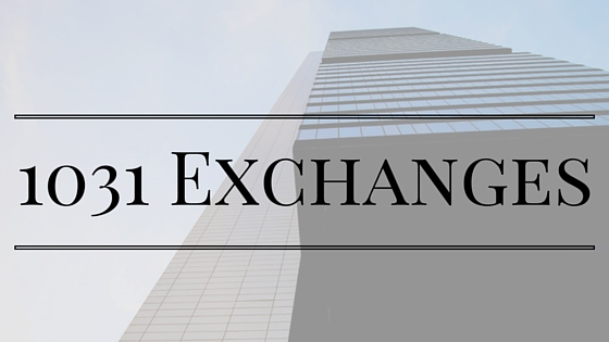 Sales of Real Estate – The Amazing Tax Benefits of 1031 Exchanges