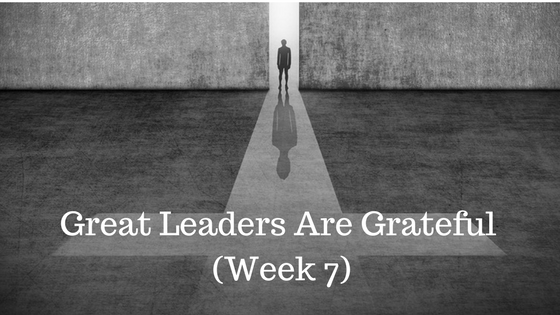 Great Leaders Are Grateful - Credo financial Services - Atlanta GA