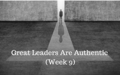 Great Leaders Are Authentic - Credo Finance - Atlanta GA