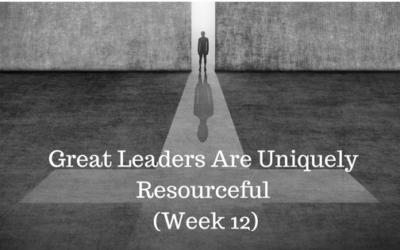 Great Leaders Are Uniquely Resourceful - Credo Financial Services - Atlanta GA