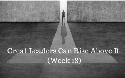 Great Leaders Can Rise Above It - Credo Finacial Services - Atlanta GA