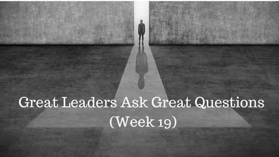 Great Leaders Ask Great Questions - Credo Financial Services - Atlanta GA