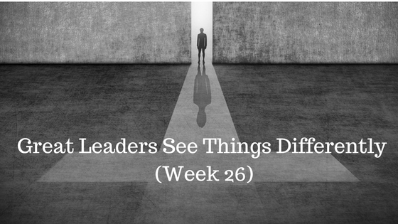 Great Leaders See Things Differently - Credo Financial Services - Atlanta GA