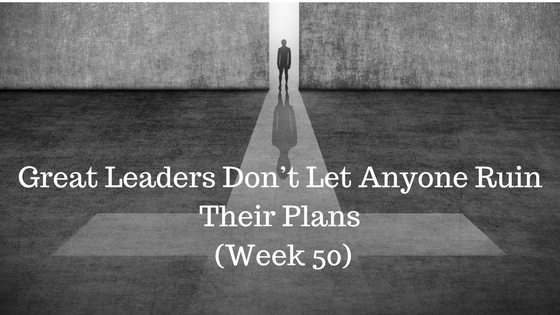 Great Leaders Don't Let Anyone Ruin Their Plans - Credo CFOs $ CPAs - Atlanta GA