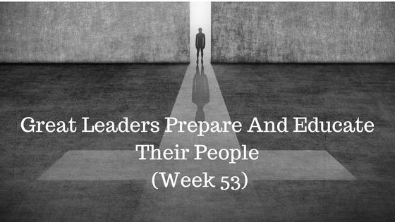 Great Leaders Prepare And Educate Their People - Credo CFOs & CPAs - Atlanta GA