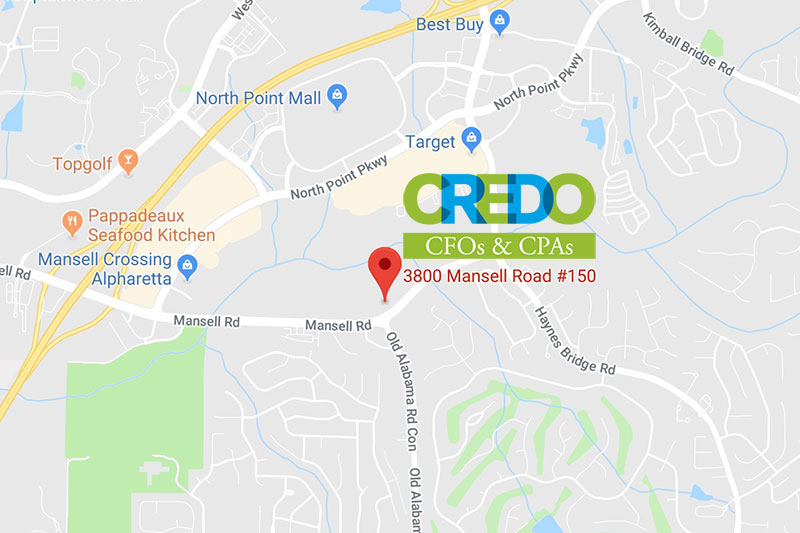 Map to Credo Finance