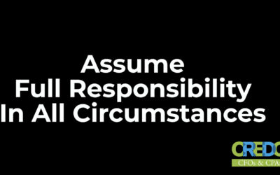 Colonel Rick White: Assume Full Responsibility In All Circumstances
