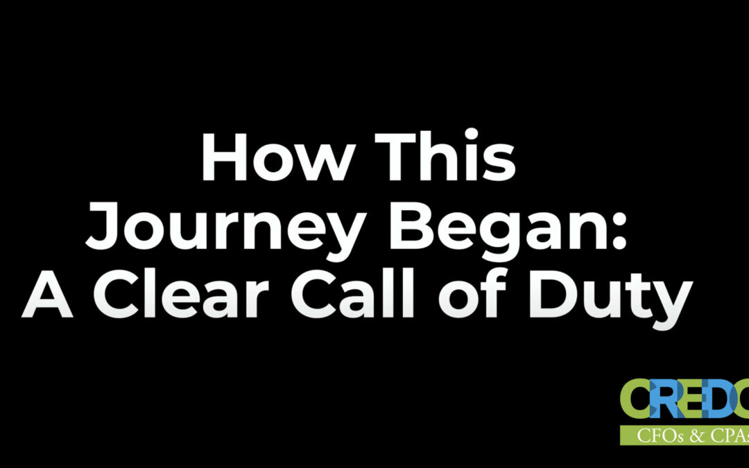 Colonel Rick White: How This Journey Began: A Clear Call of Duty