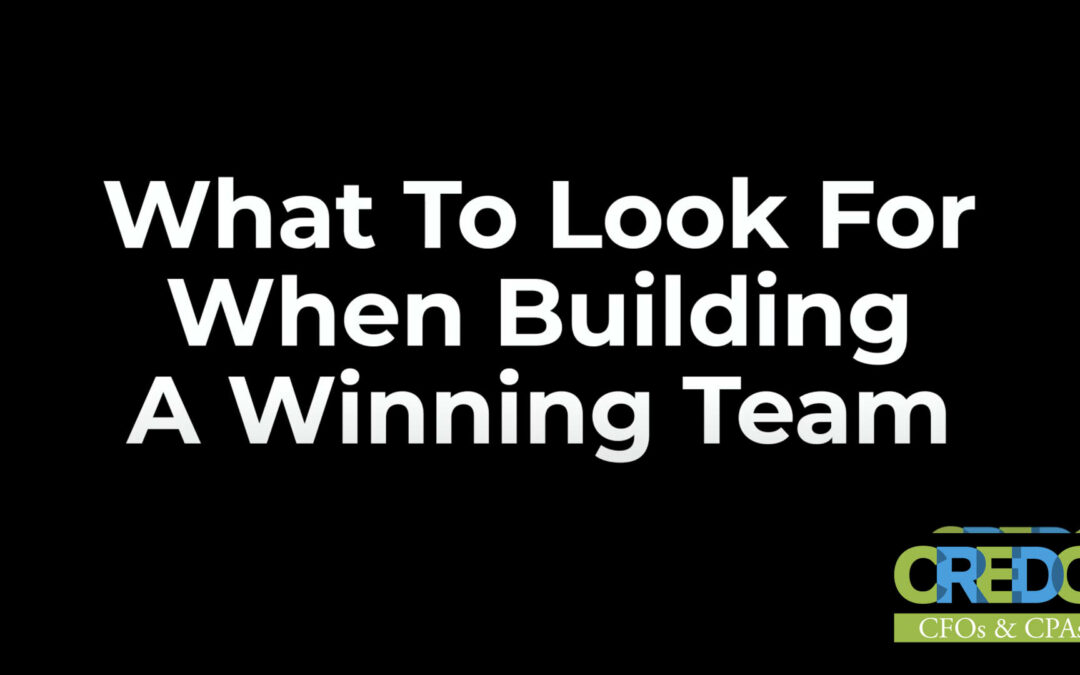 Colonel Rick White: What To Look For When Building A Winning Team